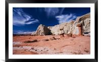 Alien Landscape , Framed Mounted Print