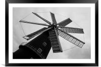 Wonderful Windmill, Framed Mounted Print