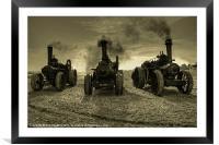 The three Beasties .!, Framed Mounted Print