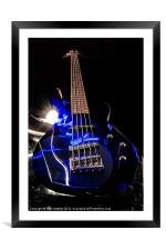 Turn up the Bass, Framed Mounted Print