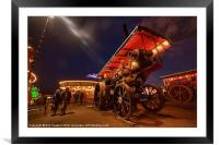 A nite at the fair, Framed Mounted Print