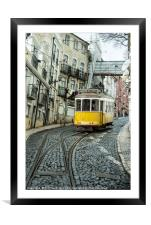 Point Tram , Framed Mounted Print