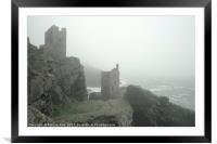 Cornish Mist , Framed Mounted Print