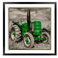 Green Marshall , Framed Mounted Print