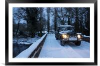 Landy on the Culm , Framed Mounted Print