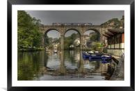 Knaresborough Viaduct, Framed Mounted Print