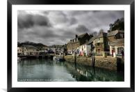 Padstow Cornwall, Framed Mounted Print