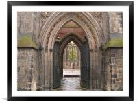 Arch, Framed Mounted Print