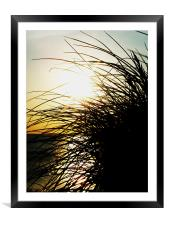 Dunes, Framed Mounted Print