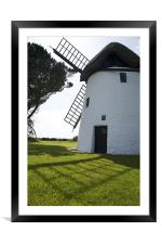 Tacumshane windmill, Framed Mounted Print