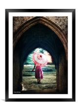 its my time, Framed Mounted Print