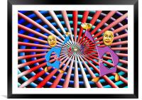 party time with a twist, Framed Mounted Print