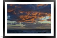 Cloud, Framed Mounted Print