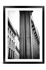 Old Montreal, Framed Mounted Print