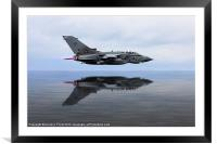 Marham Tornado GR4 Reflections, Framed Mounted Print