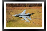 Tornado low level, Framed Mounted Print