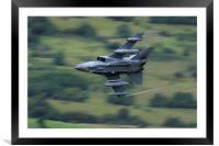 Tornado GR4 low level , Framed Mounted Print