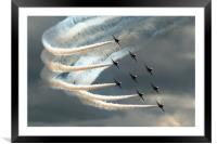 Red Arrows 2, Framed Mounted Print