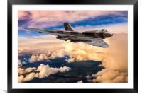 Avro Vulcan bomber XH558, Framed Mounted Print