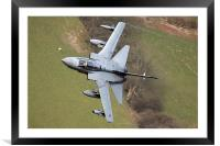 Tornado GR4 in wales, Framed Mounted Print