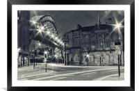 Doon The Quayside, Framed Mounted Print