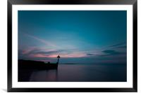 Wells sunset, Framed Mounted Print
