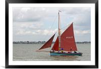 Sailing Smack Marigold, Framed Mounted Print