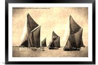 Niagara, Edme and Edith May , Framed Mounted Print