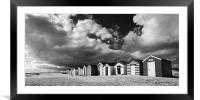 Southwold Beach Huts, Framed Mounted Print
