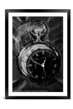 Timepiece, Framed Mounted Print