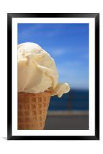 Ice Cream, Framed Mounted Print