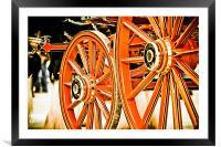 Spit & Polish, Framed Mounted Print
