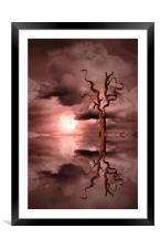 Sun Set Dream, Framed Mounted Print