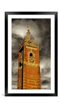 Cabot Tower, Framed Mounted Print