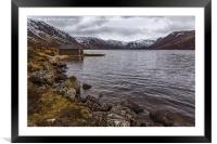 Loch Muick, Framed Mounted Print
