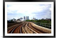 My destination, Framed Mounted Print