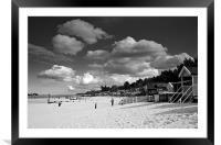Under Norfolk Skies, Framed Mounted Print