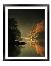 Loch Ard Autumn Light, Framed Mounted Print