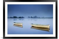 Blue Hour, Loch Rusky , Trossachs, Framed Mounted Print