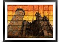 Arundel Castle at Sunset, Framed Mounted Print