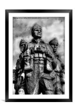 Standing Proud, Framed Mounted Print
