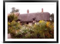 Cottage, Framed Mounted Print