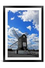 Pitstone Windmill, Framed Mounted Print