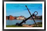 Anchor, Framed Mounted Print