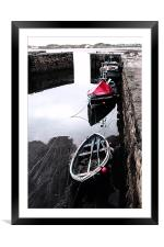 Beadnell Harbour, Framed Mounted Print