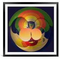 Balloon, Framed Mounted Print