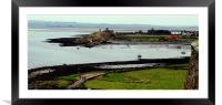 Holy Island Bay, Framed Mounted Print