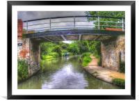 Bridge 111, Framed Mounted Print