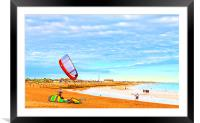 Fun Day Out, Framed Mounted Print