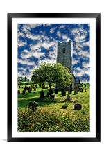 Church of St. Lawrence, Framed Mounted Print